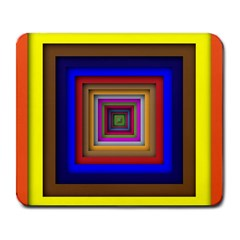 Square Abstract Geometric Art Large Mousepads