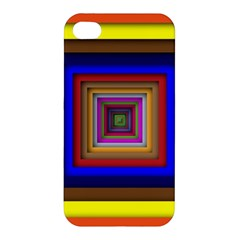 Square Abstract Geometric Art Apple Iphone 4/4s Hardshell Case