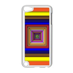 Square Abstract Geometric Art Apple Ipod Touch 5 Case (white)