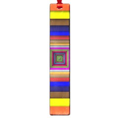 Square Abstract Geometric Art Large Book Marks