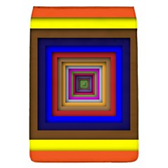 Square Abstract Geometric Art Flap Covers (l)