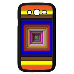 Square Abstract Geometric Art Samsung Galaxy Grand DUOS I9082 Case (Black)