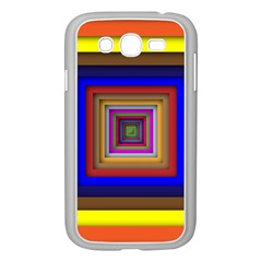 Square Abstract Geometric Art Samsung Galaxy Grand Duos I9082 Case (white)
