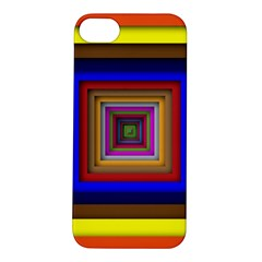 Square Abstract Geometric Art Apple Iphone 5s/ Se Hardshell Case