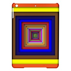 Square Abstract Geometric Art Ipad Air Hardshell Cases