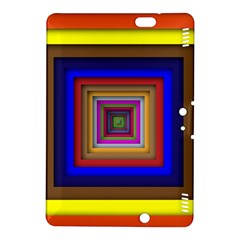Square Abstract Geometric Art Kindle Fire Hdx 8 9  Hardshell Case