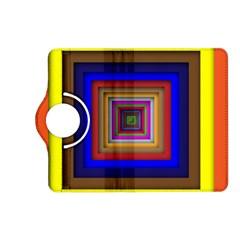 Square Abstract Geometric Art Kindle Fire HD (2013) Flip 360 Case