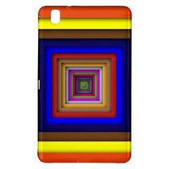 Square Abstract Geometric Art Samsung Galaxy Tab Pro 8 4 Hardshell Case