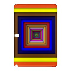 Square Abstract Geometric Art Samsung Galaxy Tab Pro 12.2 Hardshell Case