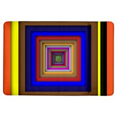 Square Abstract Geometric Art Ipad Air Flip