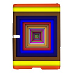 Square Abstract Geometric Art Samsung Galaxy Tab S (10 5 ) Hardshell Case
