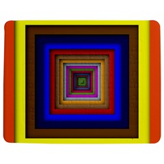 Square Abstract Geometric Art Jigsaw Puzzle Photo Stand (Rectangular)