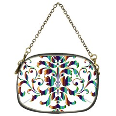 Damask Decorative Ornamental Chain Purses (one Side)