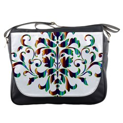 Damask Decorative Ornamental Messenger Bags