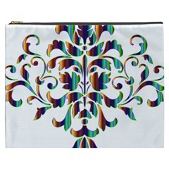 Damask Decorative Ornamental Cosmetic Bag (XXXL)