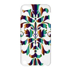 Damask Decorative Ornamental Apple Ipod Touch 5 Hardshell Case