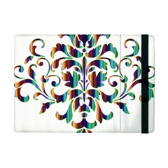 Damask Decorative Ornamental Apple Ipad Mini Flip Case