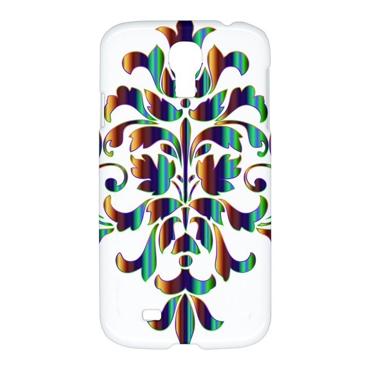 Damask Decorative Ornamental Samsung Galaxy S4 I9500/I9505 Hardshell Case