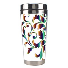 Damask Decorative Ornamental Stainless Steel Travel Tumblers