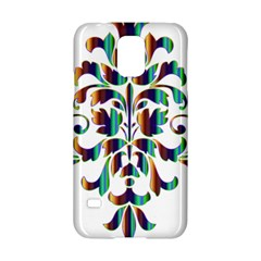 Damask Decorative Ornamental Samsung Galaxy S5 Hardshell Case