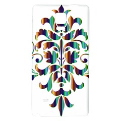 Damask Decorative Ornamental Galaxy Note 4 Back Case