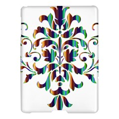 Damask Decorative Ornamental Samsung Galaxy Tab S (10 5 ) Hardshell Case