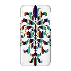 Damask Decorative Ornamental Apple Iphone 7 Hardshell Case