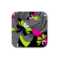 Nameless Fantasy Rubber Square Coaster (4 pack)