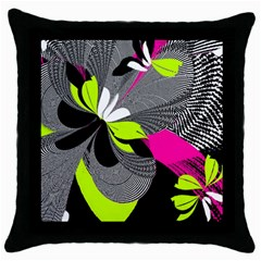 Nameless Fantasy Throw Pillow Case (black)