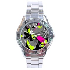 Nameless Fantasy Stainless Steel Analogue Watch