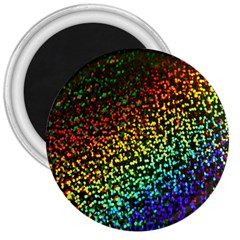 Construction Paper Iridescent 3  Magnets