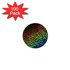 Construction Paper Iridescent 1  Mini Buttons (100 Pack)