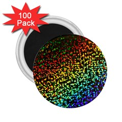 Construction Paper Iridescent 2 25  Magnets (100 Pack)