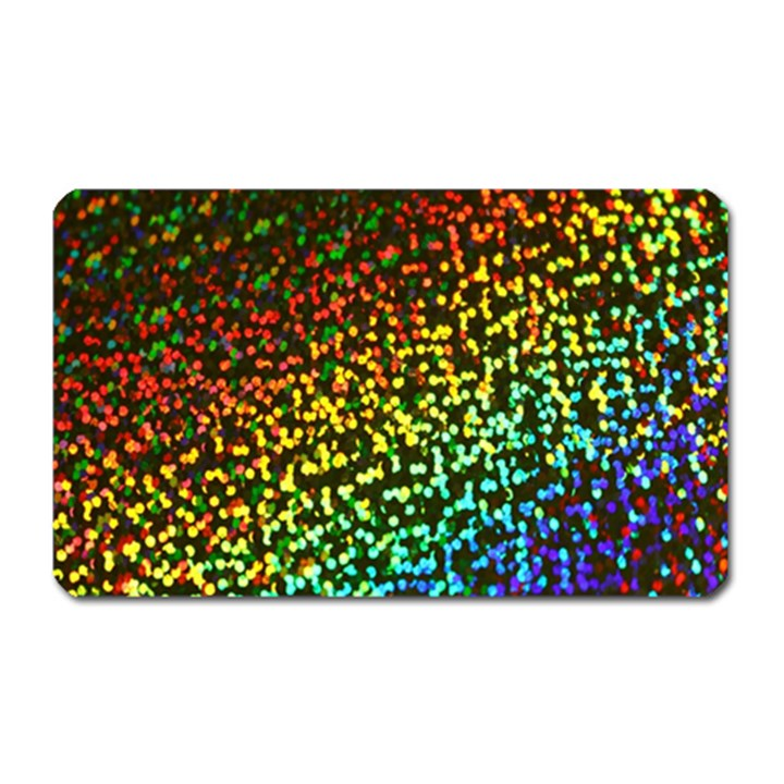 Construction Paper Iridescent Magnet (Rectangular)