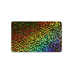 Construction Paper Iridescent Magnet (name Card)
