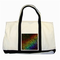 Construction Paper Iridescent Two Tone Tote Bag