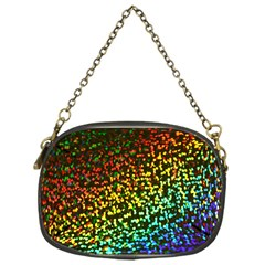 Construction Paper Iridescent Chain Purses (one Side)