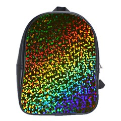 Construction Paper Iridescent School Bags(large)