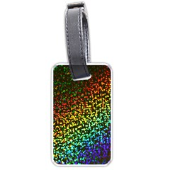 Construction Paper Iridescent Luggage Tags (two Sides)
