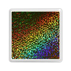 Construction Paper Iridescent Memory Card Reader (square)