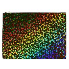 Construction Paper Iridescent Cosmetic Bag (xxl)