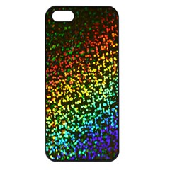 Construction Paper Iridescent Apple Iphone 5 Seamless Case (black)