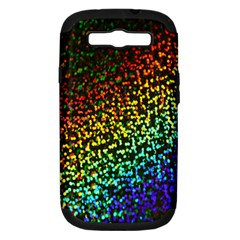 Construction Paper Iridescent Samsung Galaxy S Iii Hardshell Case (pc+silicone)