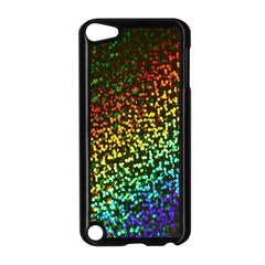 Construction Paper Iridescent Apple iPod Touch 5 Case (Black)
