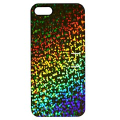 Construction Paper Iridescent Apple Iphone 5 Hardshell Case With Stand