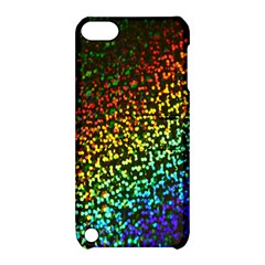 Construction Paper Iridescent Apple Ipod Touch 5 Hardshell Case With Stand