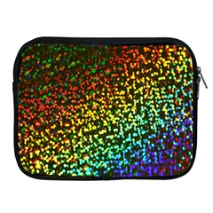 Construction Paper Iridescent Apple Ipad 2/3/4 Zipper Cases