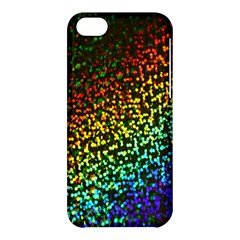 Construction Paper Iridescent Apple Iphone 5c Hardshell Case