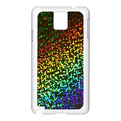 Construction Paper Iridescent Samsung Galaxy Note 3 N9005 Case (white)