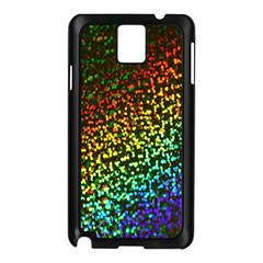 Construction Paper Iridescent Samsung Galaxy Note 3 N9005 Case (Black)